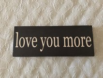 Love you more decor in Yucca Valley, California