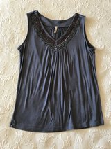 Women's gray top in Yucca Valley, California