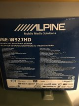 Alpine INE W927 HD GPS NAV Bluetooth with Rear View Camera in Camp Pendleton, California