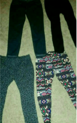 Leggings and forever 21 jeans in Yucca Valley, California