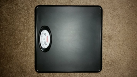 Weight scale in Yucca Valley, California