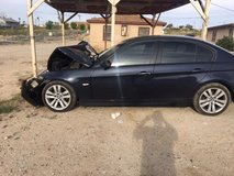 parting out BMW 2006 325i in Fort Irwin, California