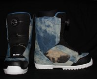 Snowboard & Bindings & NEW Flow Boots in Alamogordo, New Mexico