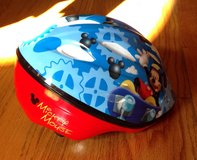 Toddler Mickey Mouse bicycle/bike helmet (For 3- 5yr olds) in Warner Robins, Georgia