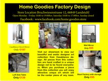 Home Goodies Factory design in Spangdahlem, Germany