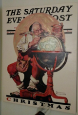 Norman Rockwell Christmas Cover in Camp Pendleton, California