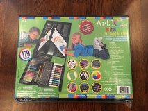 TONS OF ART SUPPLIES! - NEW  179-Piece Double Sided Trifold Easel Art Set in Naperville, Illinois