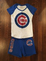 Girls Chicago CUBS Shorts Outfit from Justice - Size 10 in Westmont, Illinois