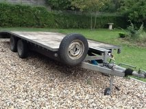 Galvanised Car Trailer. REDUCED in Lakenheath, UK
