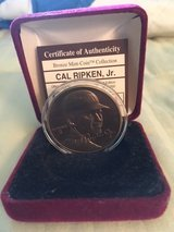 *** CAL RIPKEN Jr. Bronze Medallion Coin Highland Mint with COA*** in Tacoma, Washington