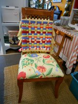 Boho Chic Rag Chair in Cherry Point, North Carolina