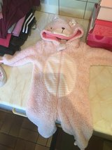 Girls fuzzy onsie in Lakenheath, UK