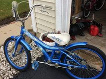 Blue Huffy bike in St. Charles, Illinois