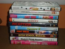 dvd's (see list) in Glendale Heights, Illinois