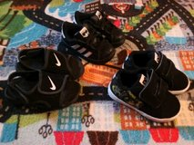 Three pairs of shoes toddler size 6. in Camp Pendleton, California