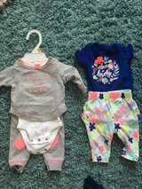 Newborn girl summer lot in Plainfield, Illinois