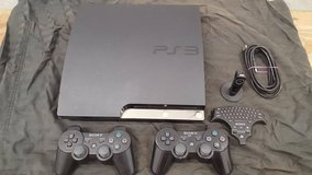 Barely used PS3 with 12 games and microphone and keyboard included! in Camp Pendleton, California