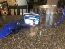 Brita water pitcher with 4 brand new filters in Fort Polk, Louisiana