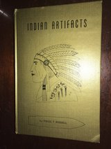 INDIAN ARTIFACTS BOOK BY VIRGIL RUSSELL in Leesville, Louisiana