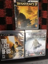3 PS3 Games in Okinawa, Japan