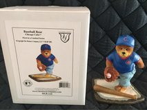 Cubs Baseball figurine in St. Charles, Illinois