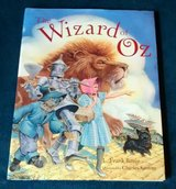 Vintage 1991 The Wizard of Oz Over Sized Hard Cover Book in Morris, Illinois