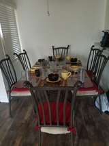Dining room set in Camp Pendleton, California