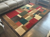 Large Rug Earth Tone Colors in Fort Bliss, Texas