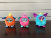 Furby Dolls - 3 For Sale (Orange, Blue, and Pink) in Westmont, Illinois