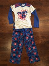 Girls Cubs Pajamas (2-Piece) Size 8-10 in Chicago, Illinois