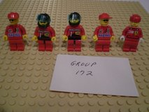 5 Lego Racers Minifigs Group 172 in Chicago, Illinois