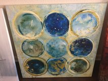 Abstract Planet Art in Fort Bliss, Texas