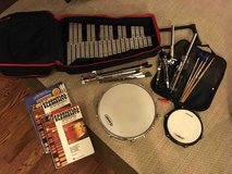 Vic Firth Percussion Kit + 3 books and sheet music in Naperville, Illinois