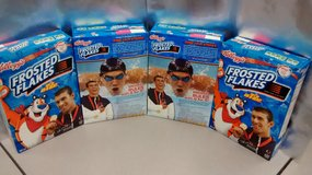 4 - RARE Michael Phelps 2008 Olympic Frosted Flakes Cereal Boxes FULL UNOPENED! in Schaumburg, Illinois