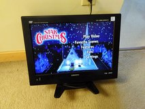 """Japanese Orion 19"""" TV with DVD on the side /no remote control in Okinawa, Japan"""