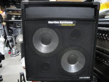 Hartke 2x10 Bass cabinet (Tested in good condition) in Okinawa, Japan