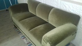 Antique Couch green from 1960 in Ansbach, Germany