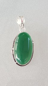 Green Onyx Pendant in Oswego, Illinois