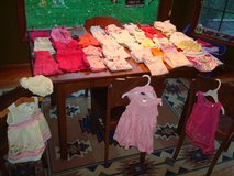 37 Pieces GIRLS 12 MONTHS Pants Shirts Sandals Dresses Shorts & More in Brookfield, Wisconsin
