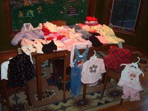 60 Pieces GIRLS 18 MONTHS Pants Shirts Winter Coat Dresses More CLEAN in Brookfield, Wisconsin
