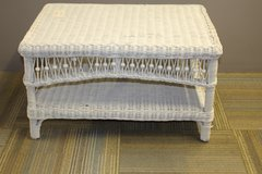 White Wicker Table in Spring, Texas