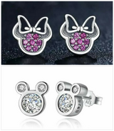 925 Bamoer Mickey or Minnie Earrings in Lawton, Oklahoma