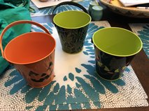 Reduced: Small Halloween Buckets in Yorkville, Illinois
