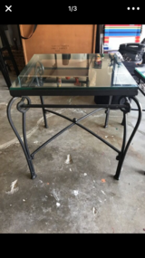 Pier one end table in Travis AFB, California