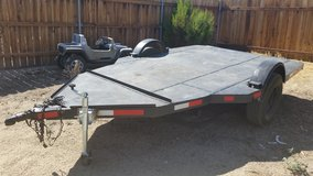 Utility trailer in Yucca Valley, California
