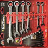Gearwrench 7pc ratcheting wrenches in Travis AFB, California