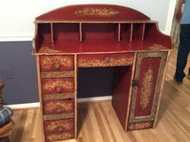 Desk, one of a kind vintage hand built painted desk in Quantico, Virginia