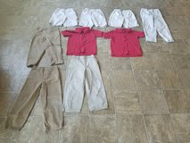 Boys size 4/5 school uniform clothes in Fort Riley, Kansas