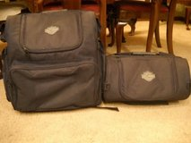 Two Traveling Harley Bags in Yorkville, Illinois