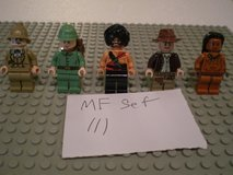 5 Lego Indiana Jones Minifigs Group 111 in Chicago, Illinois